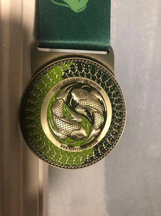 Thames Meander medal